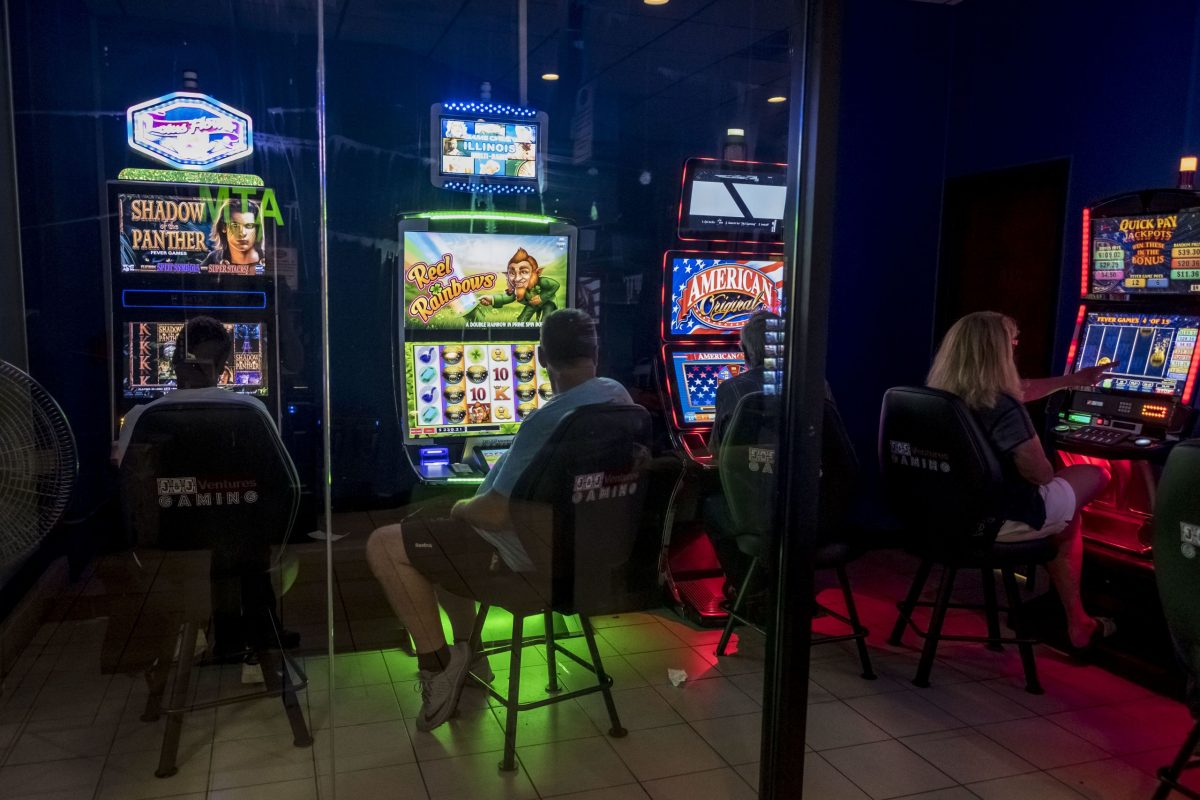 Illinois gaming cafe